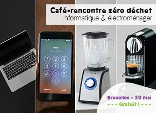 Café-rencontre zéro déchet sur l'informatique et les électros