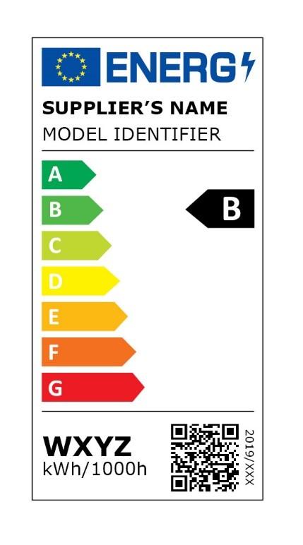 Nouvelle étiquette énergie pour une ampoule
