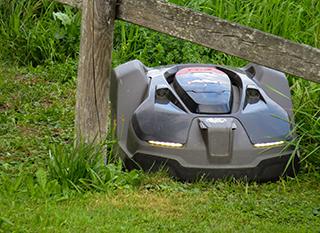 Une tondeuse robot