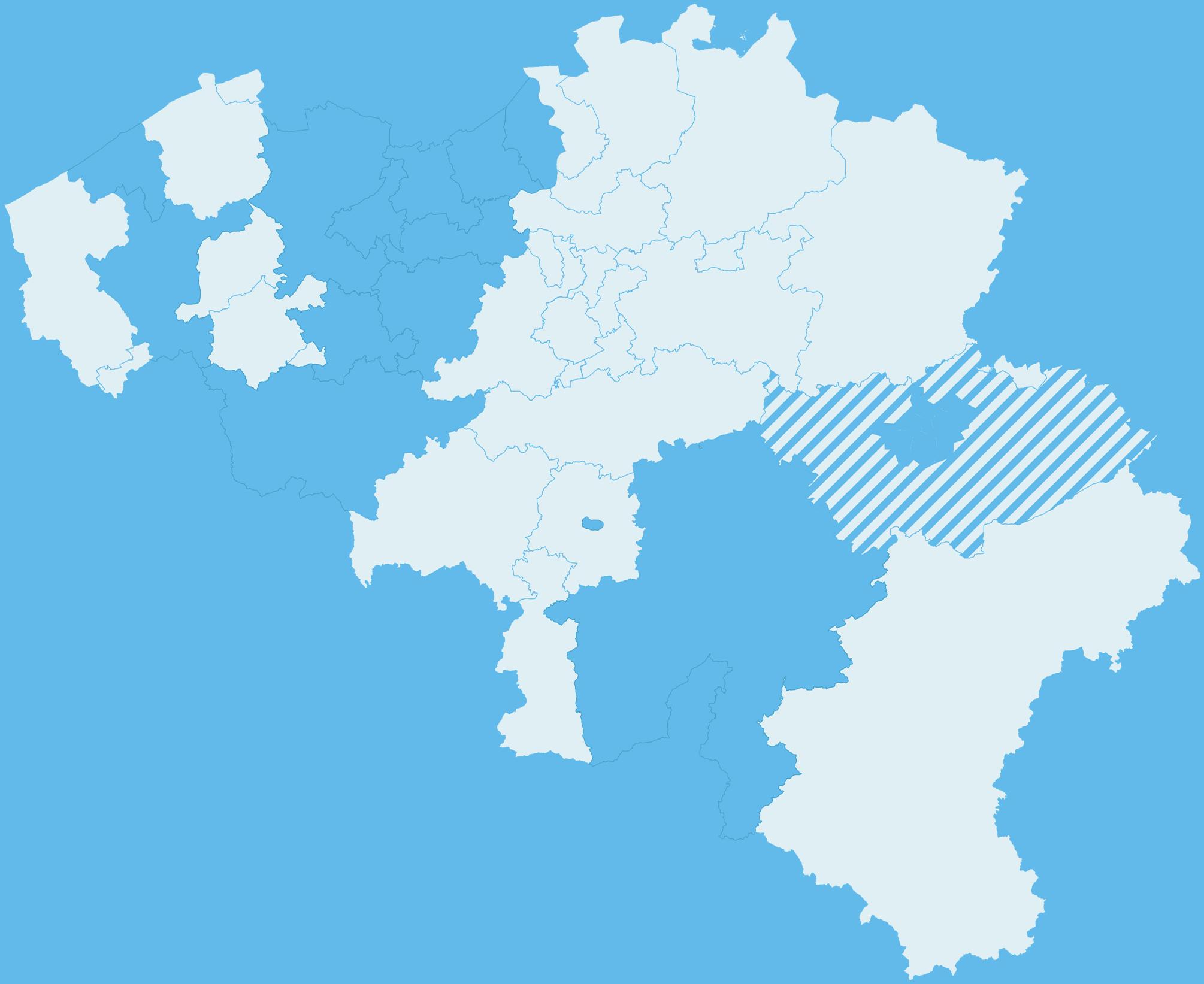 Carte du nouveau sac bleu en 2020
