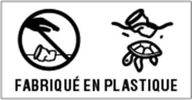 Étiquetage fabriqué en plastique - directive SUP Europe
