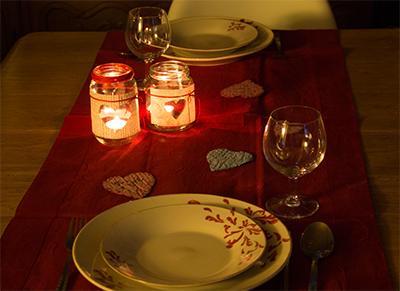 Diner en amoureux pour la Saint Valentin