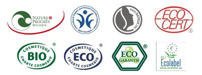 Labels éco et bio pour les cosmétiques