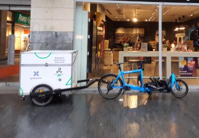 vélo cargo pour des livraisons
