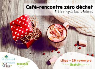 Café-rencontre zéro déchet Spécial Fêtes