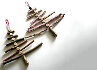 Décoration de Noël faite maison