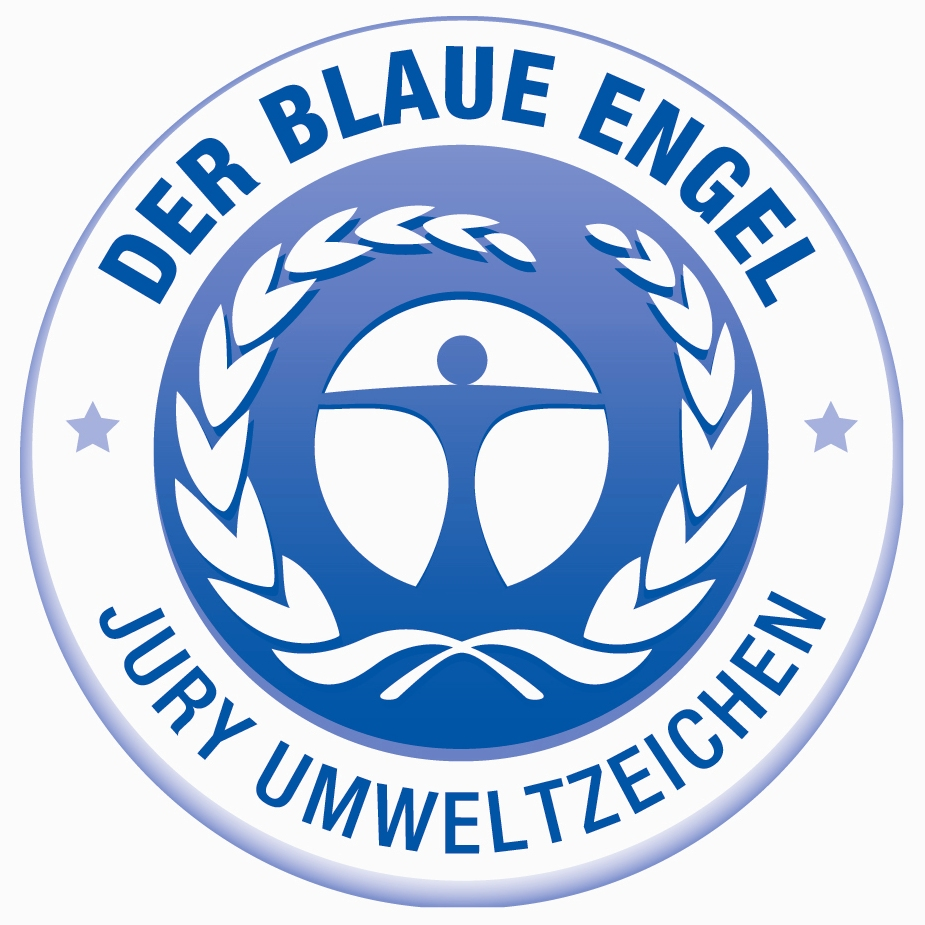 label ange bleu