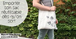 Le sac réutilisable : un compagnon zéro déchet à toujours avoir avec soi