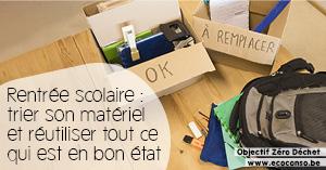 Astuce zéro déchet : réutiliser son matériel scolaire