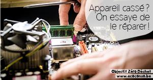 Astuce zéro déchet : réparer ses appareils et objets cassés