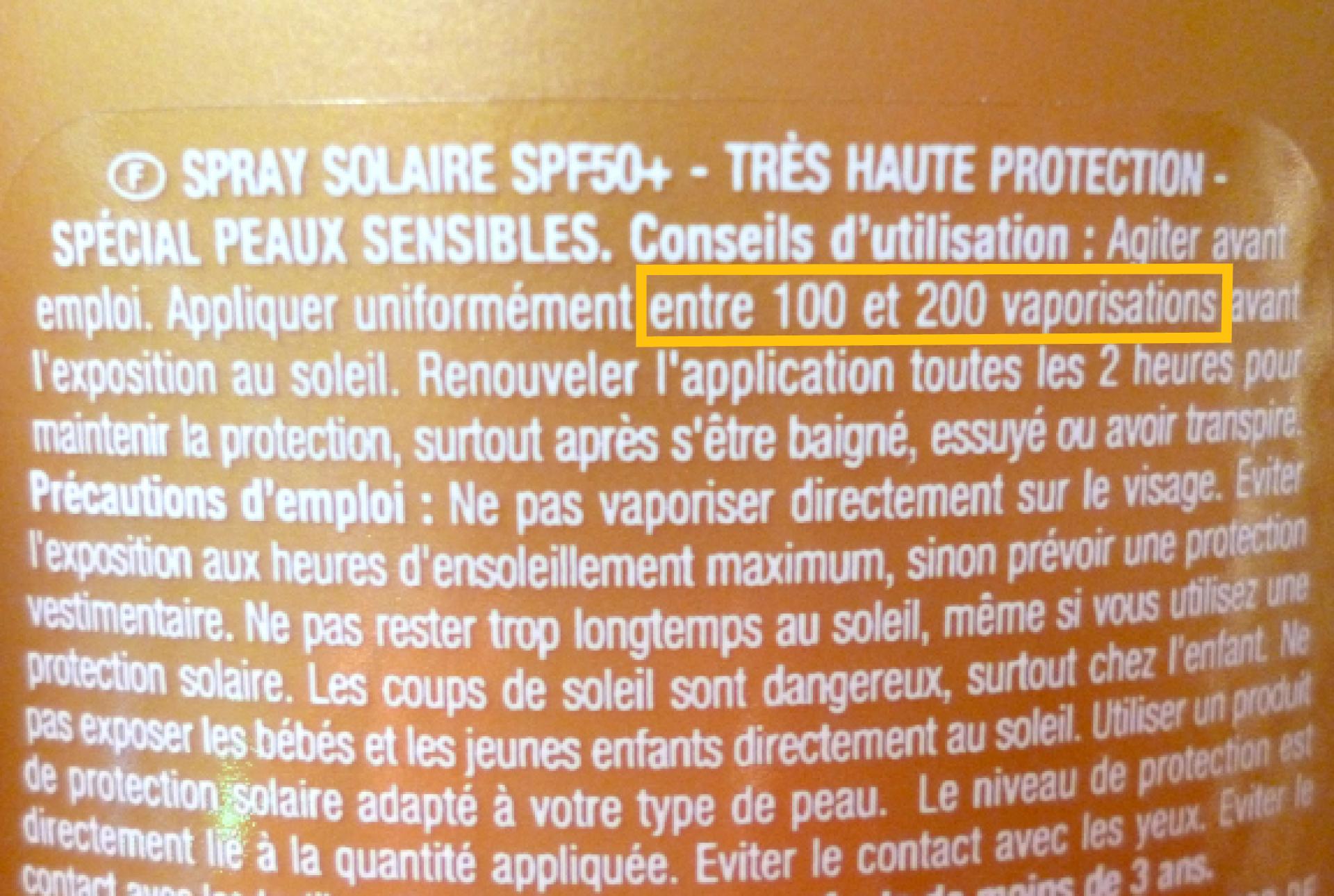Quelle quantité de crème solaire appliquer ?
