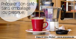 Astuce zéro déchet : préparer son café sans déchets d'emballage