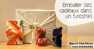 Astuce zéro déchet : emballer ses cadeaux dans un furoshiki