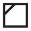 Symbole étiquette vêtement : sécher à l'ombre