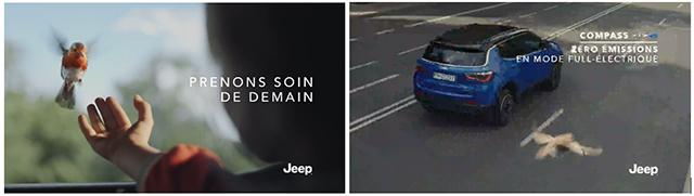 Publicité pour une voiture, non-respect des règles du secteur