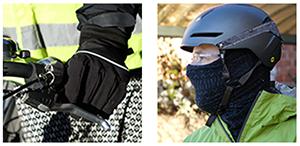 protéger les extrêmités pour rouler à vélo en hiver