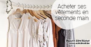 Astuce zéro déchet : acheter ses vêtements en seconde main