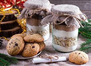Un bocal à cookies, une chouette idée cadeau