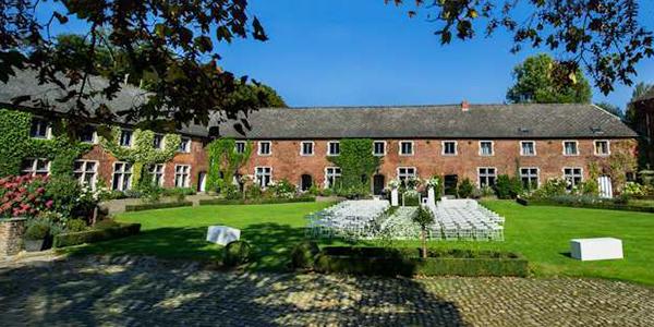 Un château-ferme labellisé Clé Verte pour son mariage. L'une des très rares adresses en Wallonie !