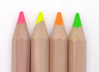Crayons surligneurs, encore mieux que les fluo rechargeables