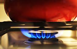 Taques de cuisson au gaz