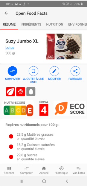 Eco-score