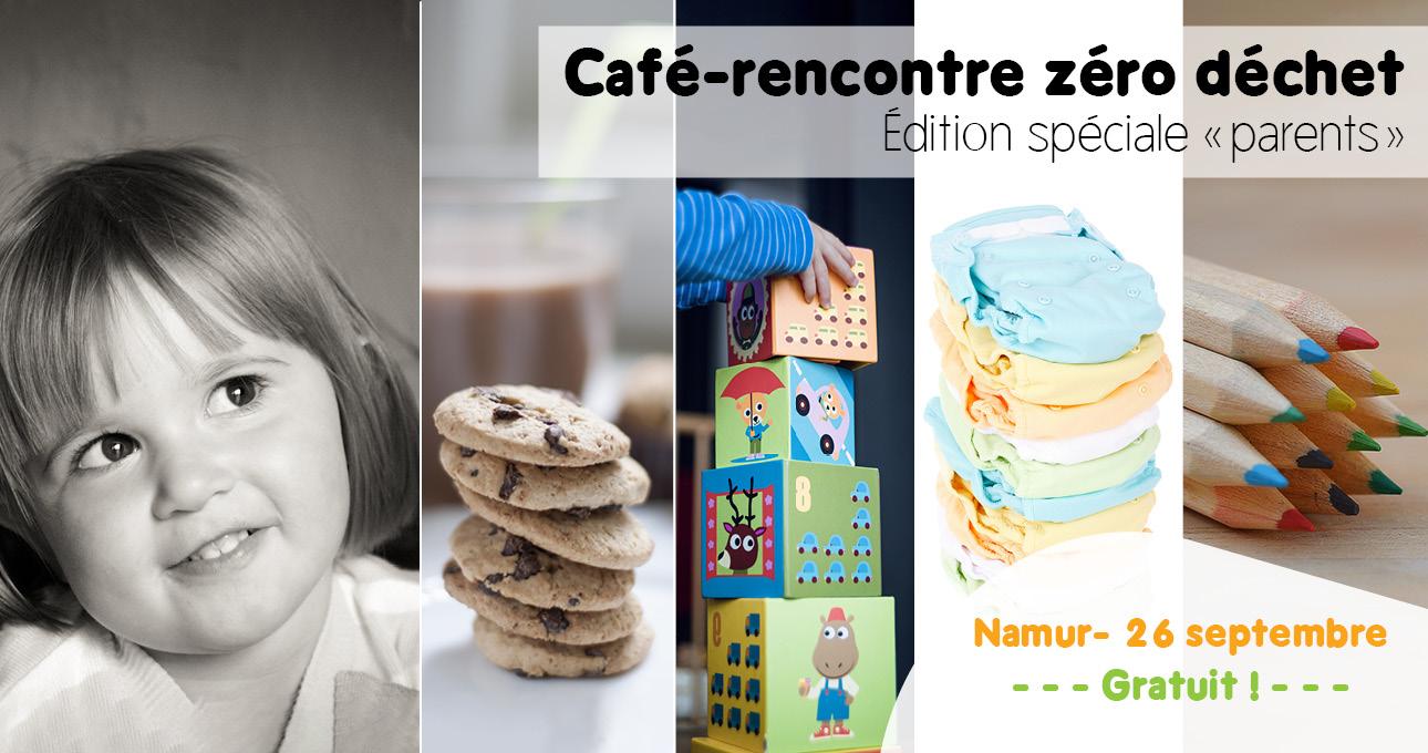 Café-rencontré zéro déchet : spécial parents