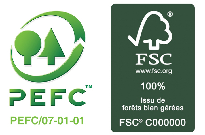 Labels PEFC et FSC