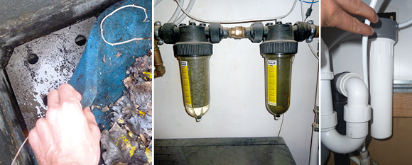 Les filtres pour l'eau de pluie