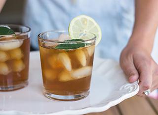 De l'ice tea fait maison