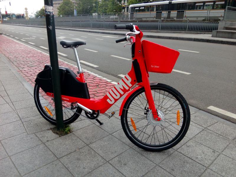 Vélo Jump à Bruxelles
