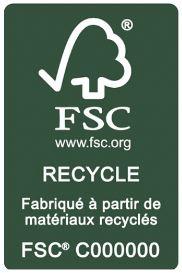 Label FSC Recyclé