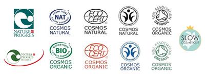 Labels cosmétiques