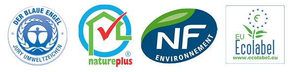 Labels écologiques pour les peintures