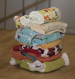 Les langes lavables sont plus écologiques
