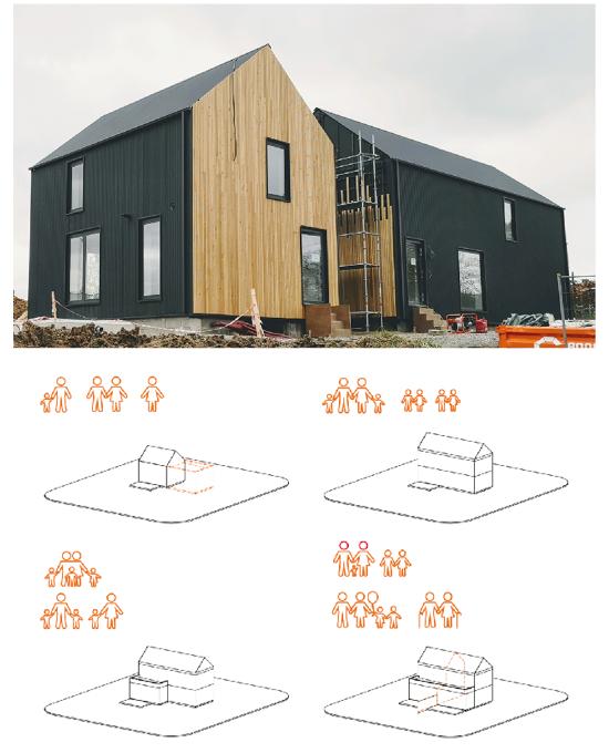 Maison modulaire et évolutive