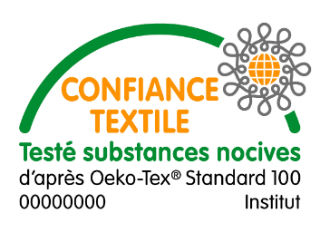 Label Oekotex 100 - Confiance Textile