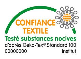 Label Oekotex standard 100 (Confiance textile)