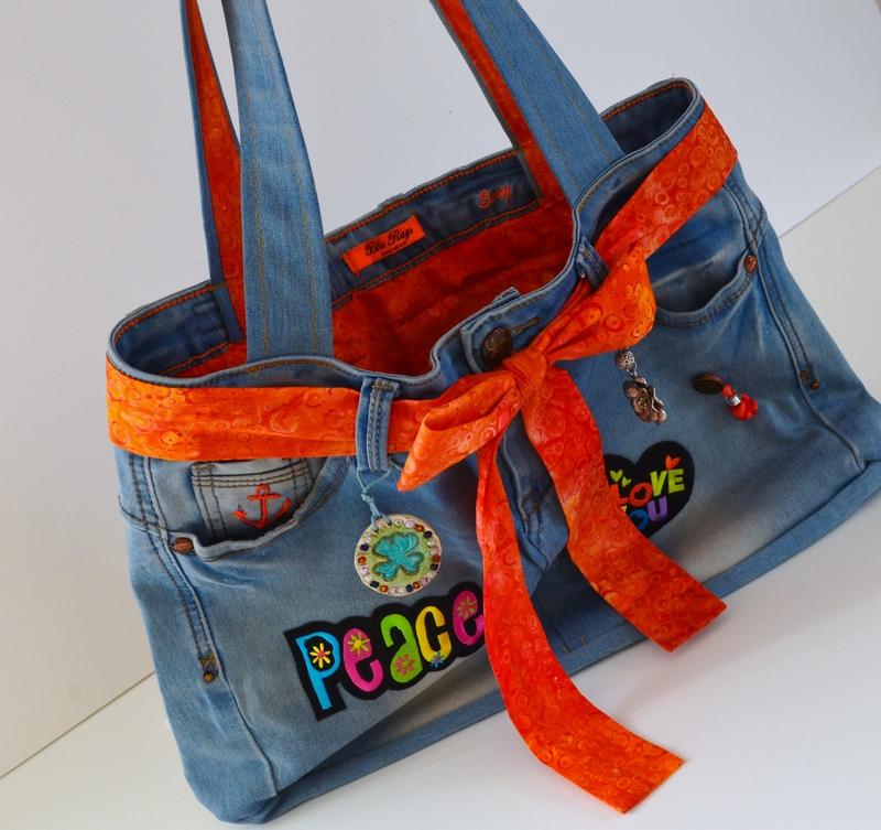 Upcycling : fabriquer un sac à partir d'un jeans