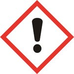 pictogramme de danger : irritant