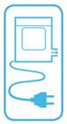Sèche-linge électrique à évacuation