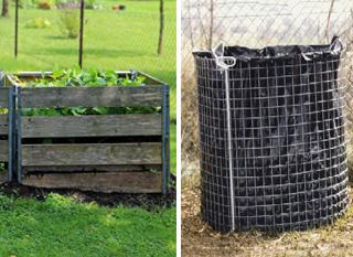 Compost en silo ou treillis