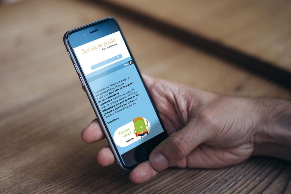 suivezleguide.be intégration smartphone