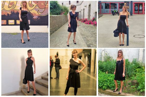 Béa Johnson et ses 22 déclinaisons pour une seule robe