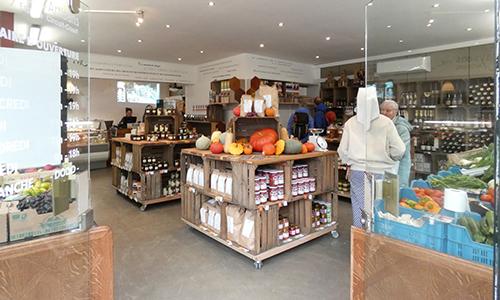 En transition : le magasin de la coopérative Paysans Artisans