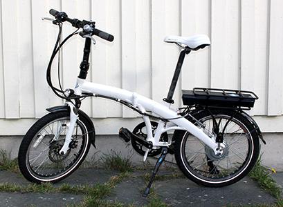 Vélo électique pliant