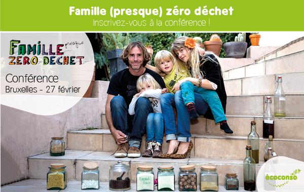 Conférence de la Famille zéro déchet