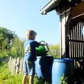 Récupérer l'eau de pluie pour le jardin, c'est tout simple