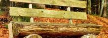 Un banc en matériaux de récup'
