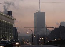 Pollution de l'air. Photo : Belfius [CC BY-SA]